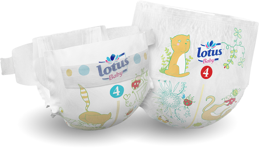 Couches et culottes Lotus Baby